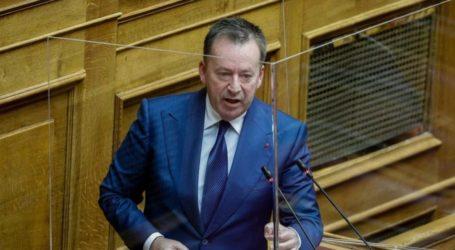 Κόκκαλης: «Το ελάχιστο που μπορεί να κάνει το κράτος ήταν η τροπολογία για τις αποζημιώσεις των πληγέντων από τον ΕΛΓΑ»