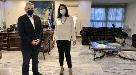 Χαρακόπουλος με υπουργό Παιδείας: Δημιουργία ΕΠΑΛ στις φυλακές Λάρισας