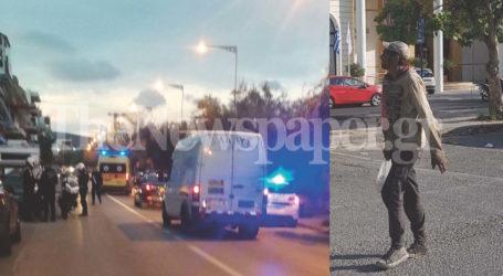 Βόλος: Ξαναχτύπησε ο Κάμελ – Έκοψε τις φλέβες του στη μέση του δρόμου [εικόνα]