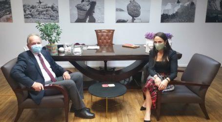 Συναντήσεις Αθανάσιου Λιούπη με Υφυπουργούς Εσωτερικών, Υγείας και Εργασίας