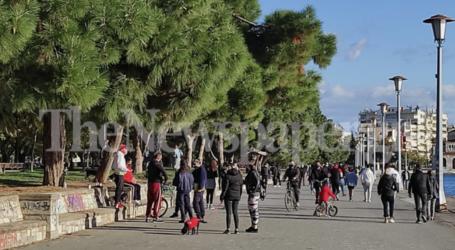 Παραλία Βόλου: Συστάσεις σε νεαρούς από το Λιμενικό  λόγω συνωστισμού