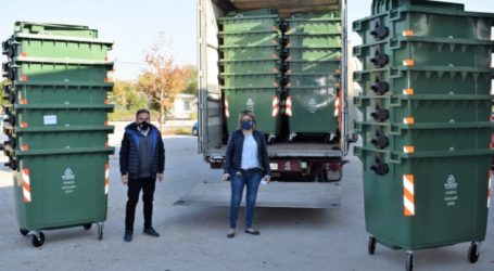 Δήμος Κιλελέρ: Παρέλαβε 500 νέους κάδους απορριμμάτων