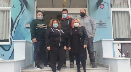 Επαγγελματίες του Βόλου χάρισαν μάσκες στο Ορφανοτροφείο Βόλου