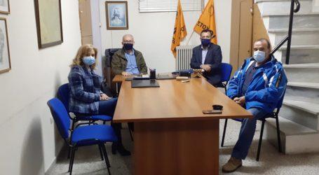 Συνάντηση με δασκάλους και νηπιαγωγούς της Μαγνησίας ο Χρήστος Μπουκώρος