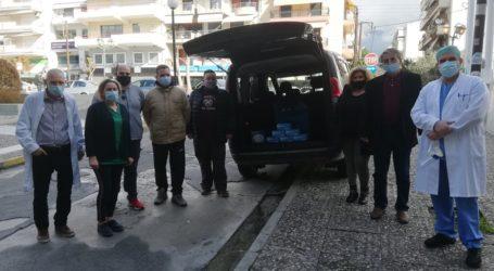 Βόλος: 1.300 ιατρικές μάσκες στο Νοσοκομείο από την «Ενωτική Πρωτοβουλία»