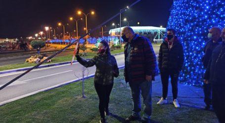 Βόλος: Πρόβα τζενεράλε για τα Χριστούγεννα – Αυτοψία Μπέου στον γιορτινό διάκοσμο [εικόνες και βίντεο]