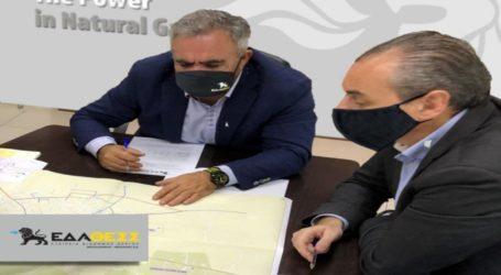 Δεύτερος Σταθμός Τροφοδότησης Φυσικού Αερίου στην Ελασσόνα λόγω αυξημένης ζήτησης
