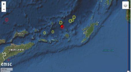 Σεισμός 6,3 Ρίχτερ σε θαλάσσια περιοχή της Ινδονησίας