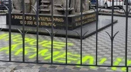 Άγνωστοι έγραψαν φιλοτουρκικά συνθήματα στο μνημείο της γενοκτονίας των Αρμενίων
