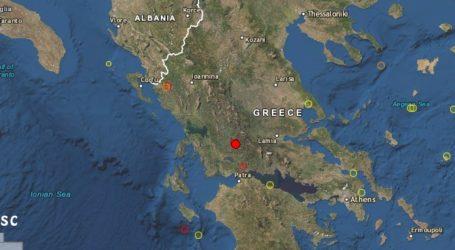 Σεισμός μεγέθους 4,4 βαθμών της κλίμακας Ρίχτερ στο Αγρίνιο