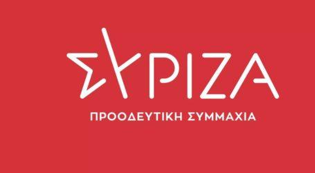 Επίσκεψη αντιπροσωπείας του ΣΥΡΙΖΑ μετά τον μεγάλο σεισμό στη Σάμο