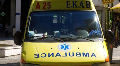 Κόρινθος: Τροχαίο δυστύχημα στο Βραχάτι
