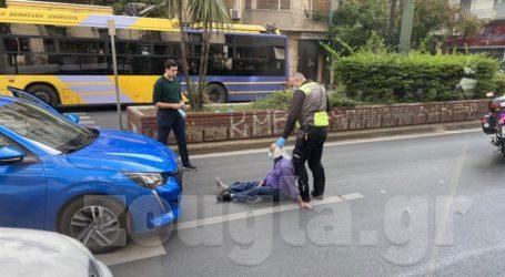 Αυτοκίνητο παρέσυρε άνδρα στην Πατησίων