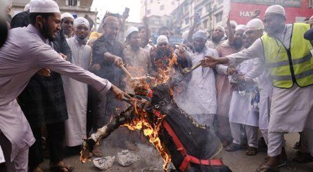 Τουλάχιστον 50.000 άνθρωποι διαδήλωσαν κατά της Γαλλίας στη Ντάκα