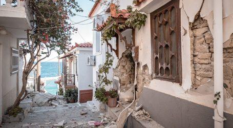 Σάμος: 300 κτήρια προσωρινά μη κατοικήσιμα στο νησί