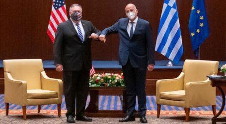 Επιστολή Πομπέο στον Δένδια: Η Ελλάδα αποτελεί πυλώνα σταθερότητας