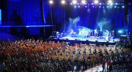 Ερευνητές βρίσκουν «αχτίδες ελπίδας», μετά από πρόσκληση σε χιλιάδες άτομα σε συναυλία σε εσωτερικό χώρο, εν μέσω πανδημίας