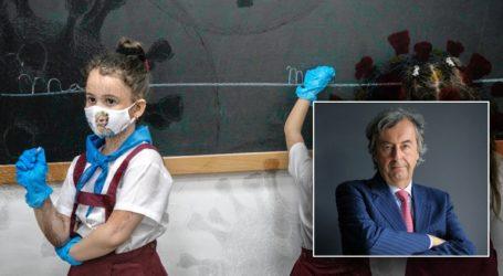 """""""Το κλείσιμο των σχολείων μειώνει κατά το ήμισυ τη διασπορά του ιού"""""""