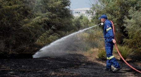 Υπό έλεγχο η πυρκαγιά στα νότια του νησιού