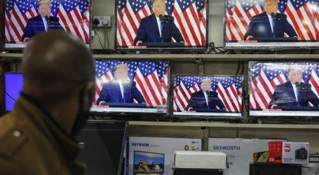 Μεγάλα τηλεοπτικά δίκτυα διέκοψαν την απευθείας μετάδοση των δηλώσεων Τραμπ