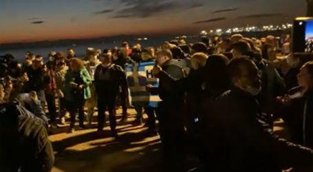 Επεισόδια σε συγκέντρωση στη Θεσσαλονίκη κατά του lockdown