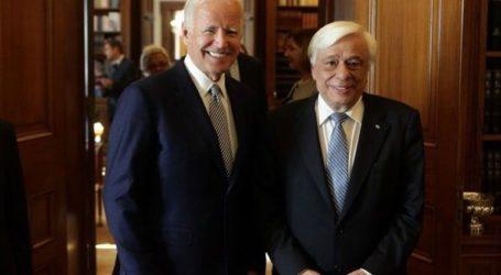 Η επίσκεψη του Τζο Μπάιντεν στην Αθήνα και η συνάντηση με τον Προκόπη Παυλόπουλο