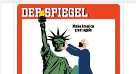 Το συγκλονιστικό εξώφυλλο του Spiegel για τη νίκη Μπάιντεν