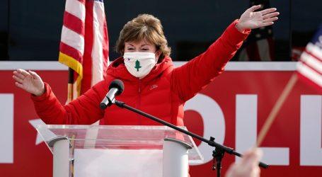 Η Ρεπουμπλικανή γερουσιαστής Σούζαν Κόλινς συγχαίρει τον εκλεγμένο πρόεδρο Τζο Μπάιντεν
