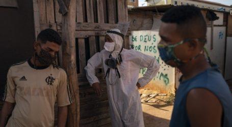 Ξεπέρασαν τους 161.000 οι νεκροί στη Βραζιλία