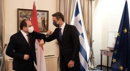 Συναντήσεις Αλ Σίσι με Μητσοτάκη και Σακελλαροπούλου