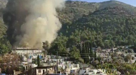 Υπό έλεγχο η φωτιά στο κέντρο υποδοχής μεταναστών της Σάμου