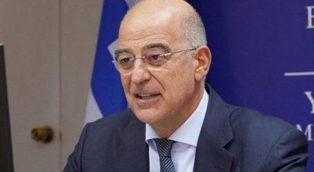 Τηλεφωνική επικοινωνία Δένδια με τον υπουργό Εξωτερικών της Τουρκίας