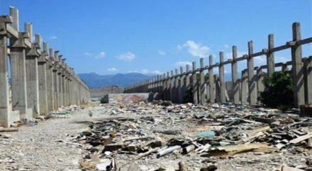 Απομακρύνονται τουλάχιστον 2.600 τόνοι επικίνδυνων αποβλήτων αμιάντου από το Δρέπανο