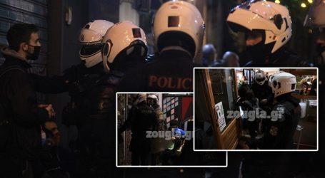 Συλλήψεις και προσαγωγές στα Εξάρχεια