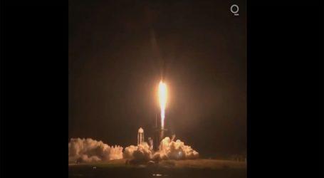 Ξεκίνησε η πτήση του SpaceX με πλήρη ομάδα αστροναυτών