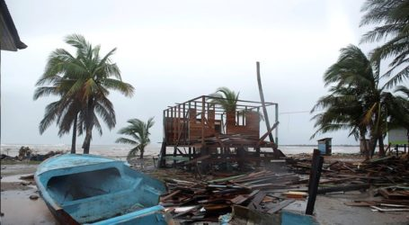 Η τροπική καταιγίδα Γιώτα πλήττει την Ονδούρα έχοντας αφήσει πίσω εννέα νεκρούς