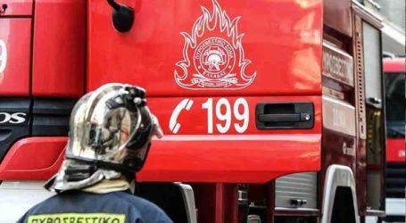 Φωτιά σε παλιό εργοστάσιο ανακύκλωσης στη Θεσσαλονίκη