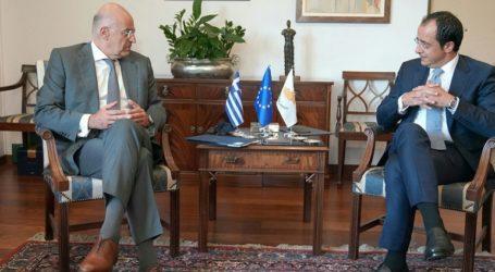 Επικοινωνία Δένδια- Χριστοδουλίδη ενόψει της τηλεδιάσκεψης των ΥΠΕΞ της ΕΕ