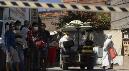 Βραζιλία-Covid-19: Ξεπέρασαν τα 6 εκατ. τα κρούσματα