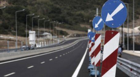 Προσωρινές κυκλοφοριακές ρυθμίσεις σε τμήματα της Ιόνιας Οδού στην Αιτωλοακαρνανία και στα Ιωάννινα