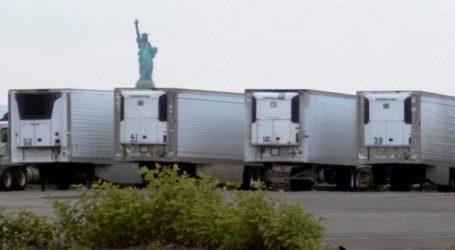 Εκατοντάδες σοροί θυμάτων από Covid-19 παραμένουν σε φορητά ψυγεία