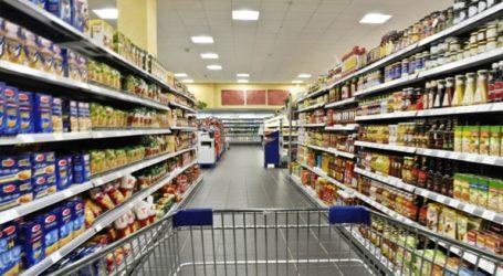 Αυξημένες κατά 17,1% οι πωλήσεις των σούπερ μάρκετ στο lockdown