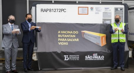 Το Σάο Πάολο θα χρησιμοποιήσει το εμβόλιο της κινεζικής Sinovac εάν λάβει έγκριση σε άλλες χώρες