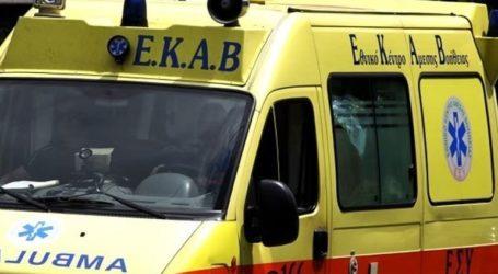 Τροχαίο δυστύχημα με θύμα 70χρονο οδηγό μοτοσικλέτας στο Αγρίνιο