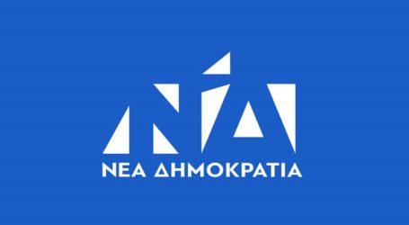 «Η κρισιμότητα των στιγμών απαιτεί σοβαρότητα, πράγμα άγνωστο στον ΣΥΡΙΖΑ»