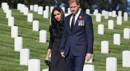 Στο στόχαστρο ο Harry και η Meghan για τη στημένη φωτογράφιση στο νεκροταφείο