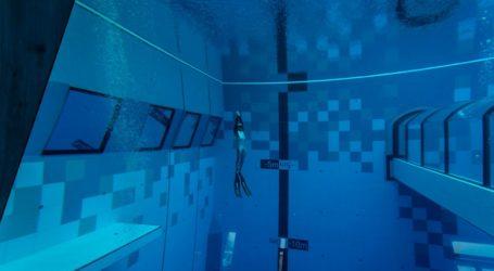 Πολωνία: Άνοιξε η πισίνα με το μεγαλύτερο βάθος στον κόσμο