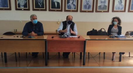 Χρ. Τριαντόπουλος: Υλοποιούνται με εντατικούς ρυθμούς τα μέτρα στήριξης των πληγέντων από τον «Ιανό» στη Μαγνησία