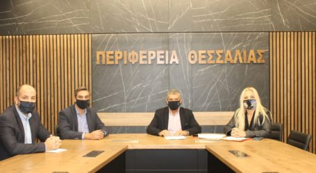 Δύο νέες συμβάσεις για έργα στην Π.Ε. Μαγνησίας υπέγραψε ο Περιφερειάρχης Θεσσαλίας