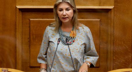 Ζέττα Μακρή: «Απαραίτητη η εξέταση της δυνατότητας παράτασηςτης υποβολής προτάσεων στο πρόγραμμα «ΑΝΑΣΑ» Ε.Π. Θεσσαλίας λόγω μη λειτουργίας του συστήματος»